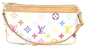 Louis Vuitton Cocktail Sprouse Stephen Multicolor Clutch