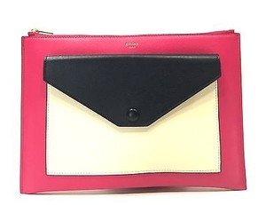 Céline Fuschia Clutch