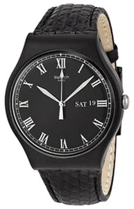 Swatch Swatch SUOB710 Unisex Classiko Black Analog Watch