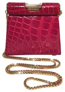 Escada Vintage Alligator Shoulder Bag