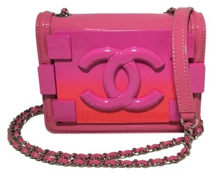 Chanel Mini Classic Classic Classic Patent Leather Shoulder Bag