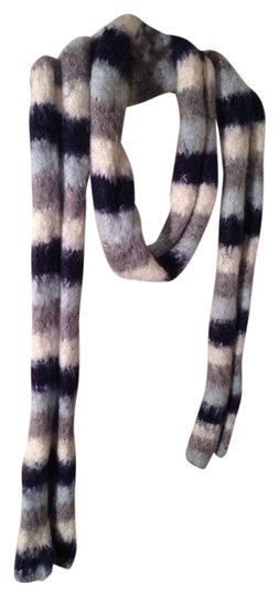 Old Navy Old Navy Blue and White Scarf
