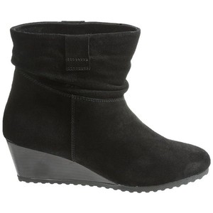 Bastien Slouch Comfortable Slouchy Short Black Boots