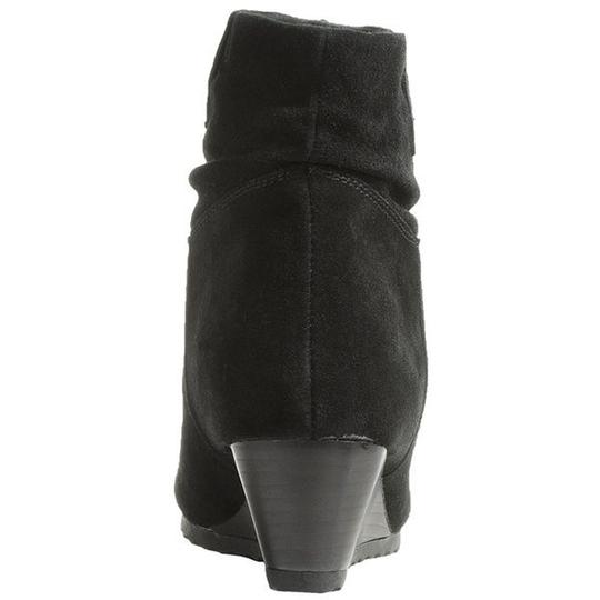 Bastien Slouch Comfortable Slouchy Black Boots