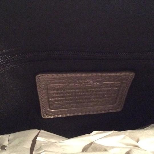 Coach New With Tags Satchel in Light Gold Metallic Image 5