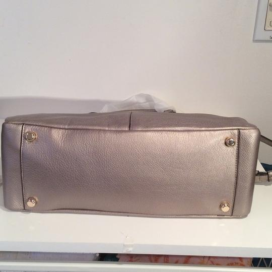 Coach New With Tags Satchel in Light Gold Metallic Image 6