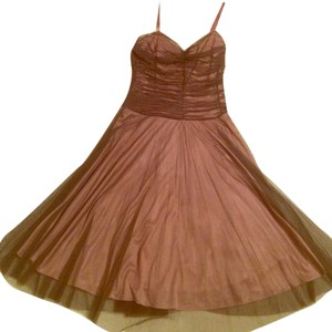 Betsey Johnson Pink/maroon Ballerina Tulle Dress