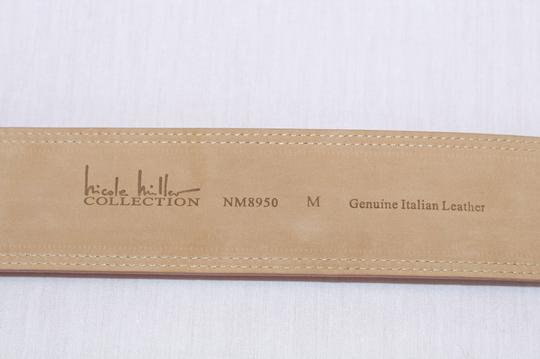 Nicole Miller Nicole Miller Collection Apricot Suede Leather Belt