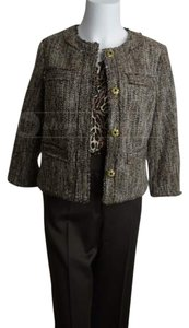 Michael Kors Tweed Coat Nwt Brown Jacket