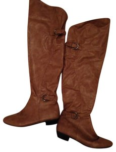 De Blossom Collection Tan Boots