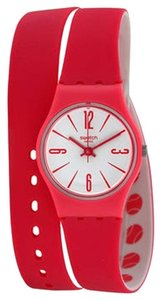 Swatch Swatch LZ112 Women's Backhand Pink Analog Watch