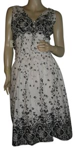 Kirat from India short dress black white on Tradesy