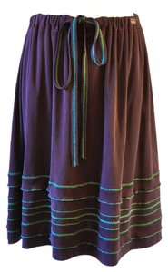 Chanel Skirt plum