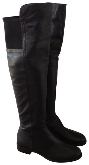 Preload https://img-static.tradesy.com/item/136172/stuart-weitzman-black-over-the-knee-bootsbooties-size-us-9-0-0-540-540.jpg