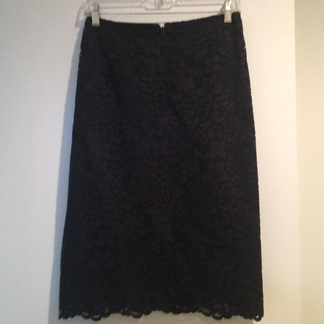 Tory Burch Skirt Navy and Emerald green Image 1