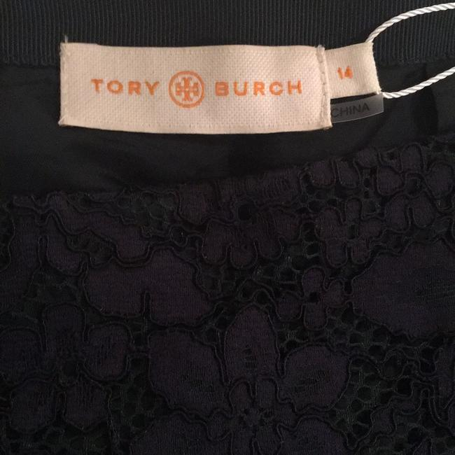 Tory Burch Skirt Navy and Emerald green Image 3