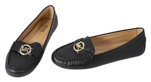 Michael Kors Leather Loafer Black Flats