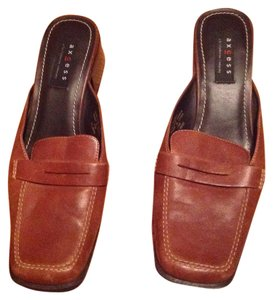 Axcess Brown Mules
