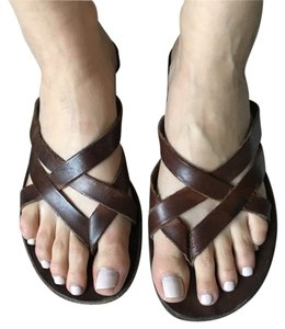 Saks Fifth Avenue Brown Sandals