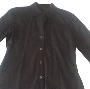 Theory Button Down Shirt Black