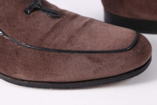 Salvatore Ferragamo Boutique Suede Brown Flats Image 1