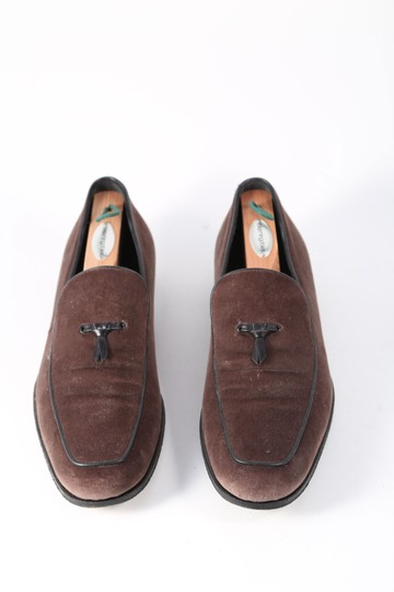 Salvatore Ferragamo Boutique Suede Brown Flats Image 4