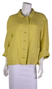 Chanel Chartreuse Blazer