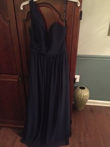 Alfred Angelo Navy 7257 Dress