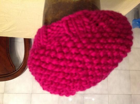 Other 100% lambs wool beret Image 3