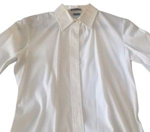Theory Button Down Shirt Off white