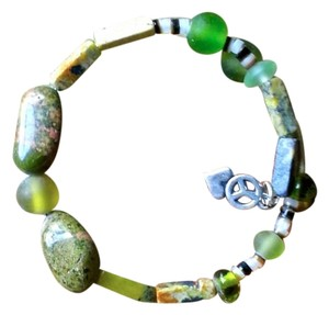 Other Earth Peace Semi Precious Stone Beads Earth Green Sea glass Beads