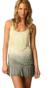 Free People Shake It Crochet Ombre Dress