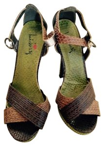 Luichiny brown +green Sandals