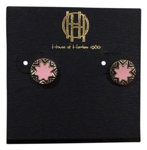 House of Harlow 1960 Engraved Sunburst Earrings