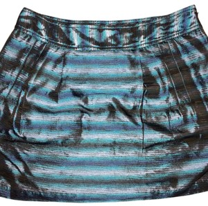 MICHAEL Michael Kors Mini Skirt Blue and gray
