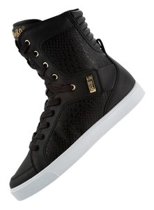 Zumba Fitness Sneakers High Tops Dance Black/Croco Athletic