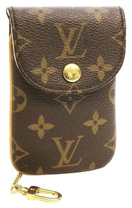 Louis Vuitton Louis Vuitton Etui MM Monogram Pochette Cell Phone Case Camera Pouch