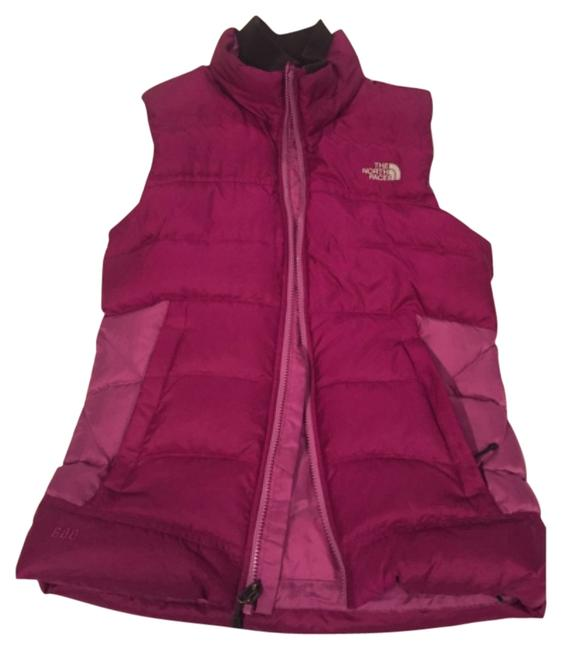 Preload https://item5.tradesy.com/images/the-north-face-dark-pink-snowbrush-vest-size-8-m-13621564-0-1.jpg?width=400&height=650