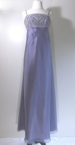 Alexia Designs Victoriain Lilac Organza Casual Bridesmaid/Mob Dress Size 10 (M)
