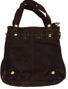 Gustto Tote in Dark grey/ brownish taupe
