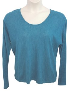 Halston Heritage Knit Top TEAL