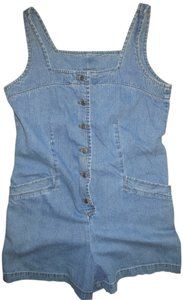 Moda International Onepiece Fesitvals Tank Tops Mini/Short Shorts Denim