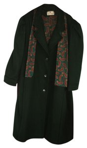 Worthington Wool Dress Midi Pea Coat