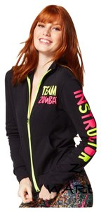 Zumba Fitness Jacket Sweatshirt Zip Up Jacket