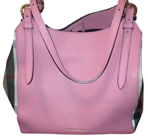 Burberry Satchel in Mauve Pink