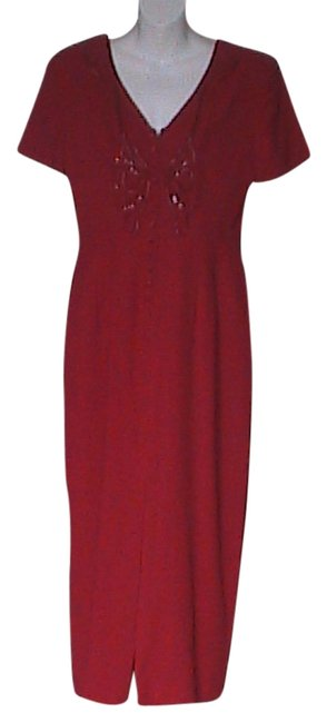 Red Dress Maxi Dress by Donna Morgan Red