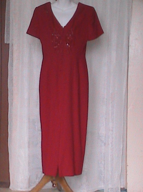 Red Dress Maxi Dress by Donna Morgan