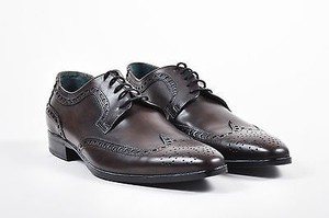 Mens Dg Dolce Gabbana Derby Lace Up Wingtips Brogues