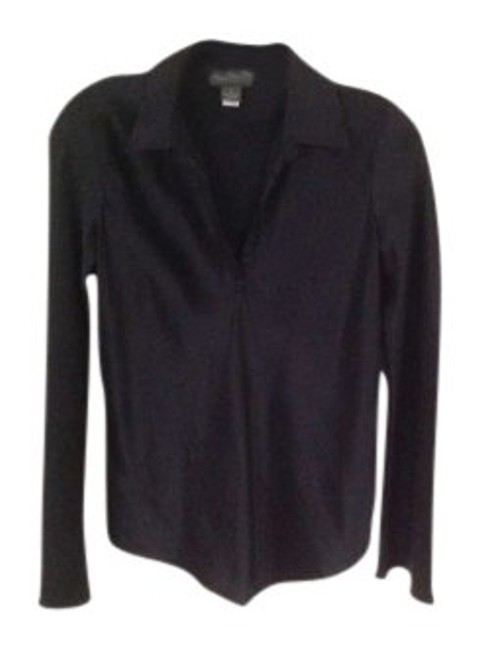 Preload https://item2.tradesy.com/images/banana-republic-black-pure-silk-blouse-size-2-xs-136251-0-0.jpg?width=400&height=650