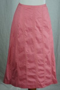 ORVIS Womens Embroidered Skirt Pink